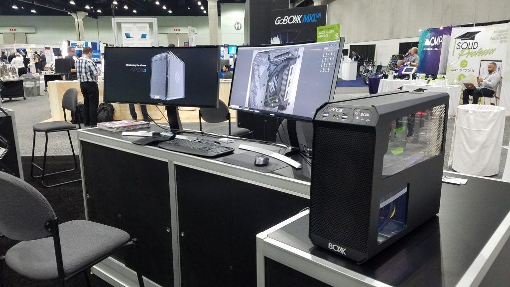 BOXX high-performance workstation