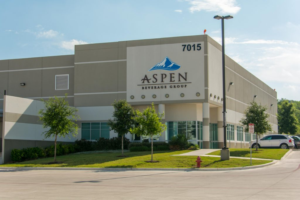 Aspen Beverage Group's headquarters in San Antonio, TX