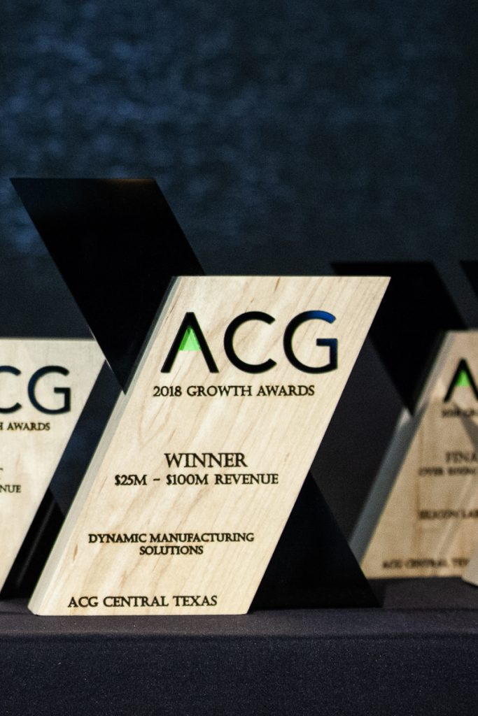 Dynamic Manufacturing Solutions ACG Growth Award