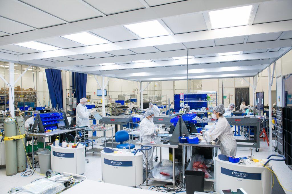 DMS' manufacturing floor