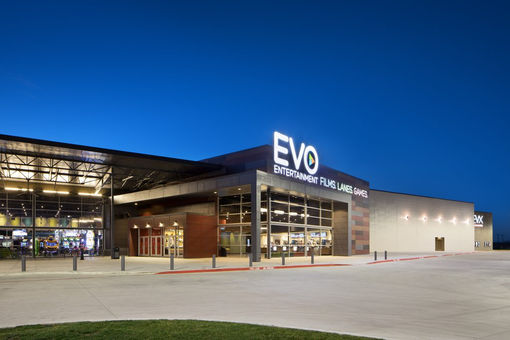EVO Entertainment's location in Kyle