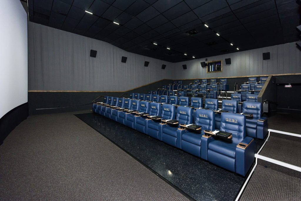 One of EVO Entertainment's movie theatres