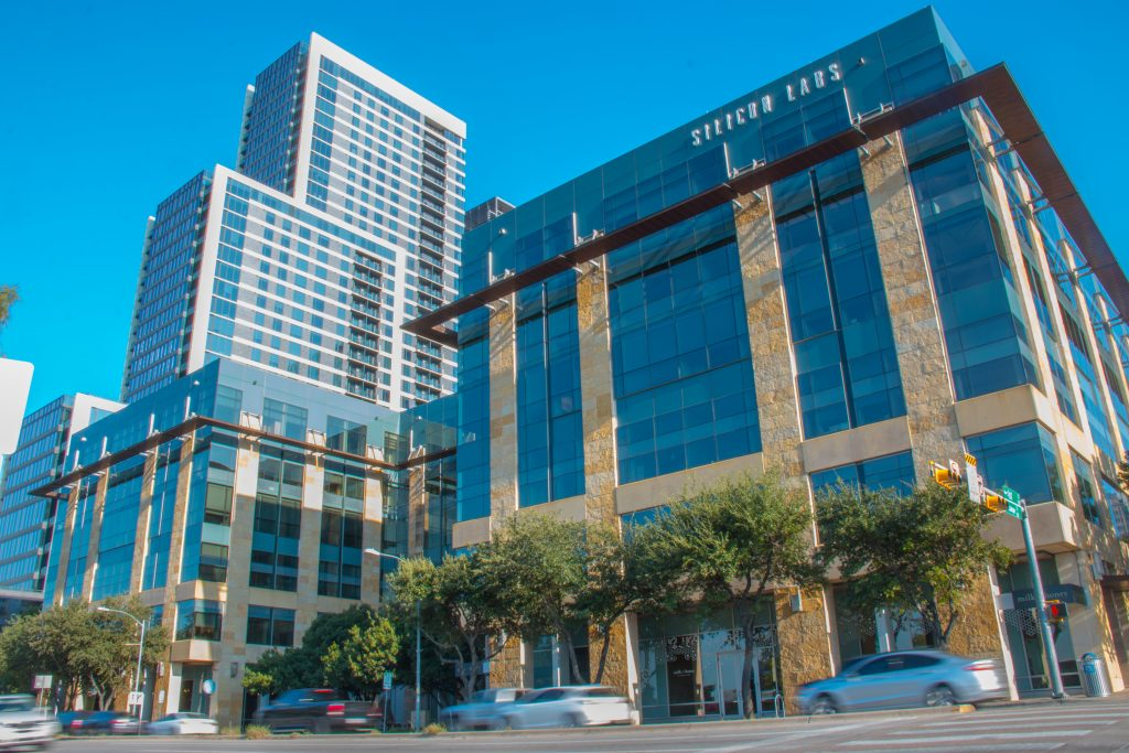 Silicon Labs' headquarters in Austin, TX