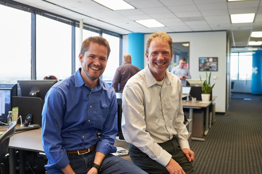 Tim Hamilton, Founder, and Kevin Hurwitz, Managing Partner of Praxent